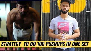 HOW TO DO 100 PUSHUPS IN ONE SET |  RAJAN SHARMA