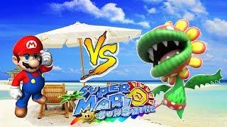 Mario Sunshine Walkthrough 'Windmills and Petey' - Ekusairo Naito