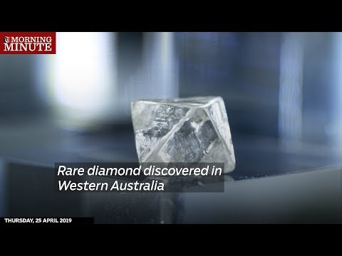 Rare diamond discovered in Western Australia