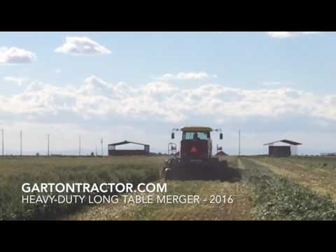 Garton Tractor New Holland Swather HD Merger 2016