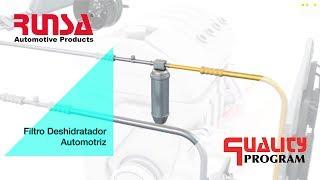 Filtro deshidratador Automotriz