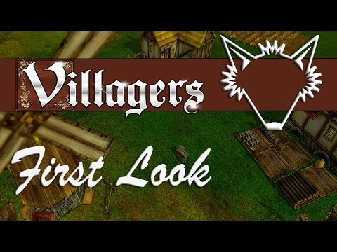Villagers | A Brand New Medieval Town Simulation, Let's Get Building! | Gameplay Let's Play | Part 1