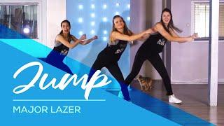 Jump - Major Lazer - HipNThigh Booty & Legs WORKOUT - Dance easy choreography