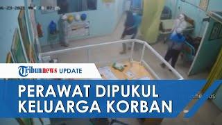 Beredar Detik-detik Perawat di Garut Dipukul Keluarga Pasien Positif Covid, Awalnya Buntuti Korban