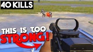 M762 + SUPPRESOR = BEST WEAPON | 40 KILLS Duo vs Squad | PUBG Mobile