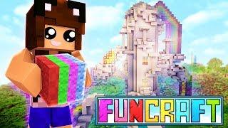 MY RAINBOW TOWER! | Minecraft FunCraft | Episode 2