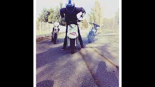 preview picture of video 'Team Riders 79 - Rassemblement 50cc , scoot , R1,125cc & cross à Nueil-les-aubiers le 28/02/15 .'