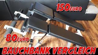VERGLEICH BAD COMPANY BAUCHBANK Vs. ScSPORTS SIT UP BANK [Vorstellung + Vergleich | dertestmichel]