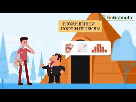 Как распознать финансовую пирамиду и не попасть на удочку мошенников