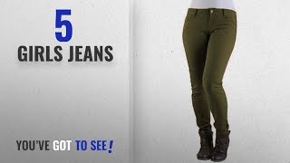 Top 10 Girls Jeans [2018]: Vanilla Inc New Ladies Womens Girls Super Stretchy Jegging Jeans UK Size