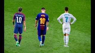 Messi vs Ronaldo vs Neymar ► The Battle of Rivals 2018