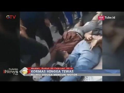 [Video Amatir] 2 Pria di Medan Tewas Dihakimi Massa Usai Dituduh Curi Motor - BIP 21/02