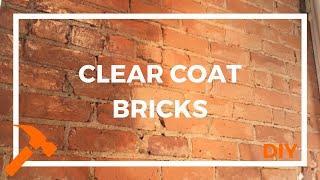 How To Prevent Exposed Brick Wall From Shedding Dust