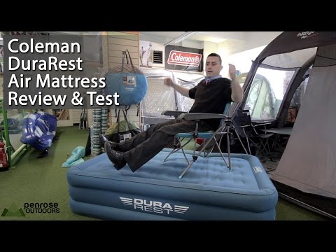 Coleman Durarest Air Mattress Review and Test