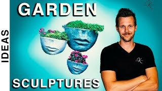 47 ENCHANTING Garden Sculpture IDEAS // Bobby K Designs