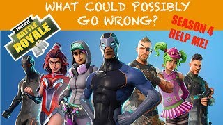 The Wrong ** FORTNITE ** Teammate.
