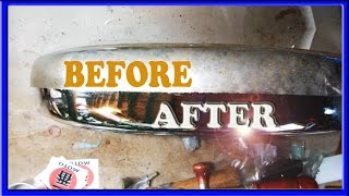 how to remove rust from chrome faster and easier than coca cola and  aluminum foil