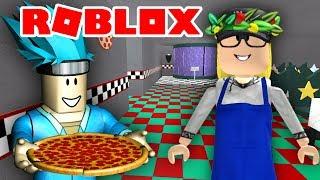 СТРОИМ ПИЦЦЕРИЮ с НИКОЛЬ CrazyFamily в ROBLOX   Приключения на стройке ресторана пиццы   Жестянка