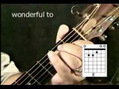 "Christian Guitar Chords  - ""Here I Am To Worship"" Mp3"