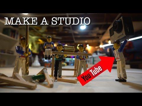 Making A Youtube Studio