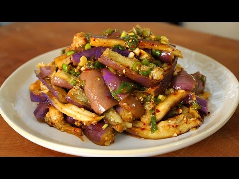 Video Eggplant and soy sauce side dish (가지나물)