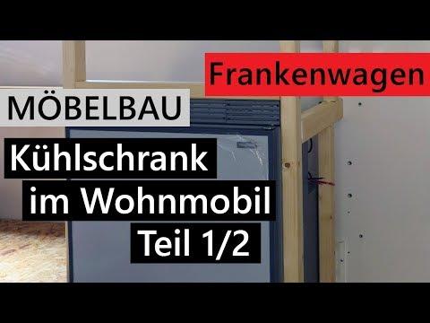 Kompressor-Kühlschrank in das Wohnmobil einbauen - Teil 1/2 | Vom Rettungswagen zum Wohnmobil