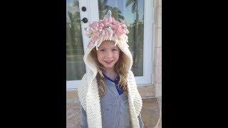 The Unicorn Hooded ScarfUnicorn For You!!!