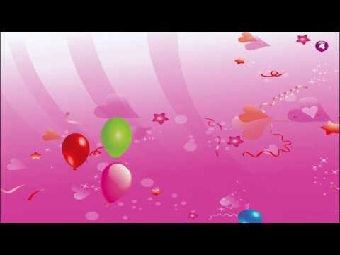 Video of Balloon Popping For Babies