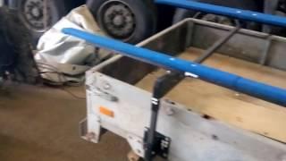 Стапель для перевозки ПВХ-лодки