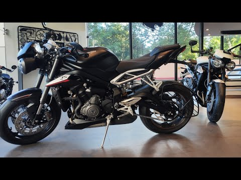 The last street triple RS naked supebike In India #unboxing