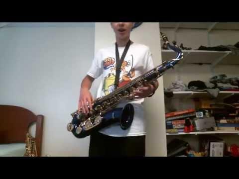 Mendini Tenor Sax Unboxing Video