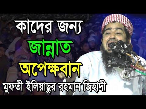 কাদের জন্য জান্নাত অপেক্ষমান || মুফতী ইলিয়াছুর রহমান জিহাদী Jihadi waz 2019