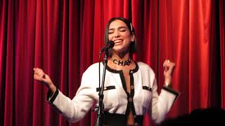 "Dua Lipa Live In LA Performing ""IDGAF"" Acoustic 9 28 18"