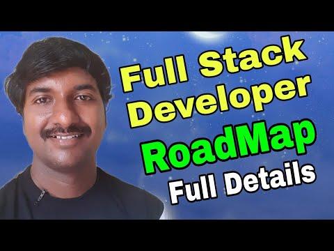 Full Stack Developer Road Map 2021