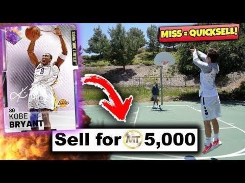 IF I MISS.. I QUICKSELL A GALAXY OPAL! NBA 2K19 Basketball Challenge