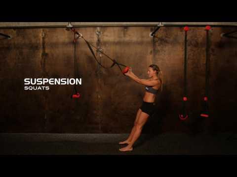 Suspended Squats & Squat Jumps | Suspension Training