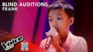 If I Sing You A Love Song by Frank Magahis | The Voice Kids Philippines Blind Auditions 2019