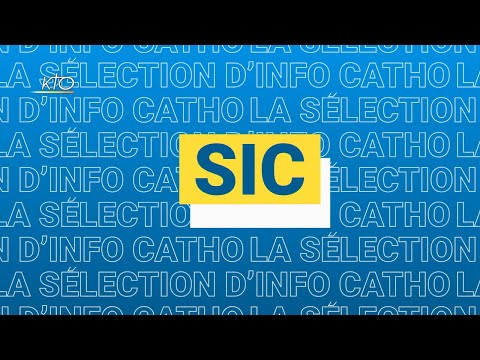 La sélection de l'info catho du 14 septembre 2020