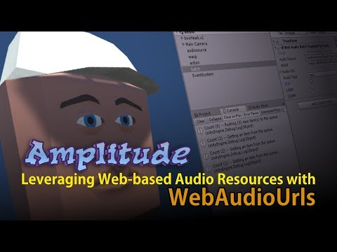 Amplitude for WebGL Leveraging Web-based Audio Resources