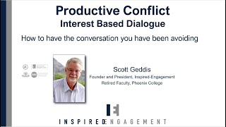 Productive Conflict: Difficult Conversations