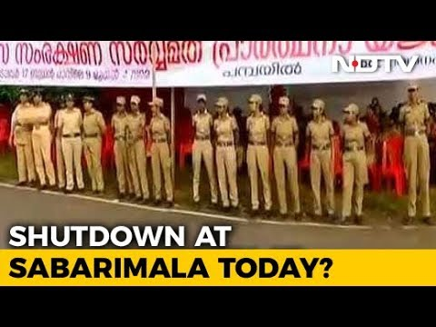 Sabarimala Set To Open For All Women Today, Kerala On Edge