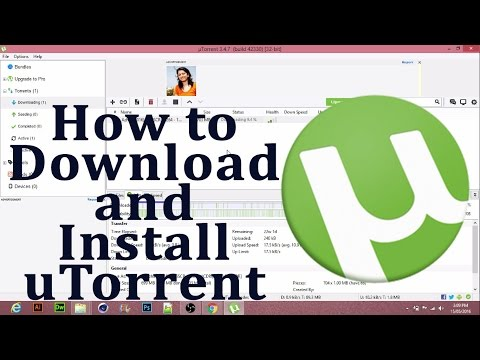 How to download and install uTorrent in windows 7/8/8.1/10 - Hindi