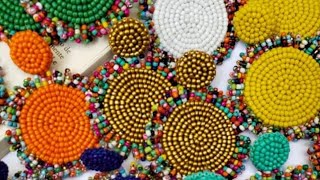 SEED BEADS EARRING DIY  // HOW TO MAKE SEED BEADS EARRINGS AT HOME