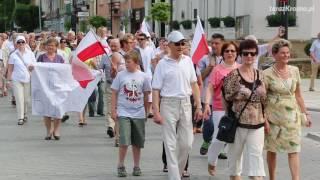 Manifestacja poparcia dla rządu Beaty Szydło w Krośnie