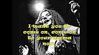 JANIS JOPLIN Cry Baby + Lyrics