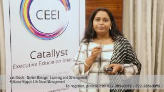 The CEEI Persuasive Communication Feedback Vani Doshi Reliance