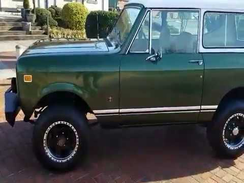 Video of '77 Scout II - MB44