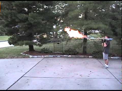 Flamethrower Trombone Can Really Fire Balls Of Fire