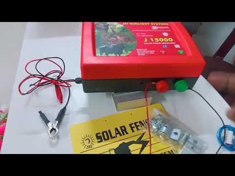 Solar Fence Energizer J 15000