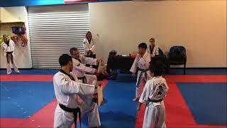Mark Tassler, Jr. Breaks Board In Martial Arts